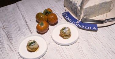 Sformatino con gorgonzola e melanza rossa di Rotonda